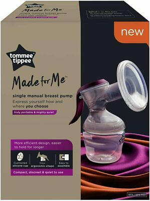 Brand New Tommee Tippee Made for me Single Manual Breast Pump