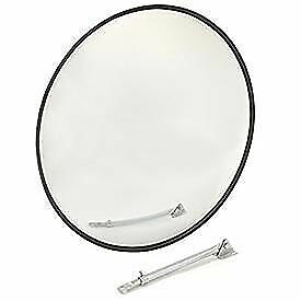 """Wide Angle Convex Safety Glass Mirror, 36"""" Diameter, Outdoor"""