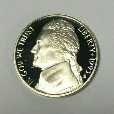 Roll of 40: 1993 -S Jefferson Nickel Proof Coins, Gem Proof BU