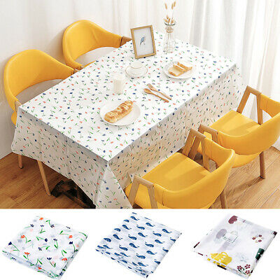 AdonisUSA Mila Decorative Printed Polyester 60 Round Tablecloth Waterproof Fabric Table Cover for Dining Room and Party 155 cm /≅ 60 inch Round