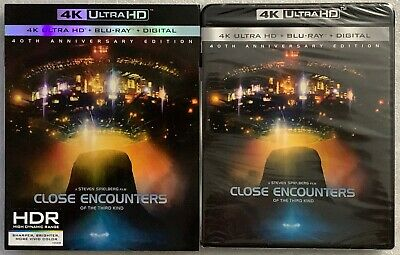 New Close Encounters Of The Thrid Kind 4K Ultra Hd Bluray Digital Rare Slipcover