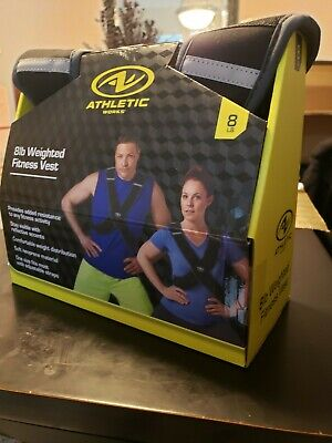 Athletic Works Weighted Walking Running Vest 4lb weight NEW IN HAND