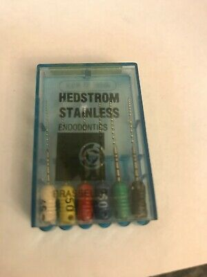 Brasseler Hedstrom Stainless Endo Files Assorted Sizes Brand New