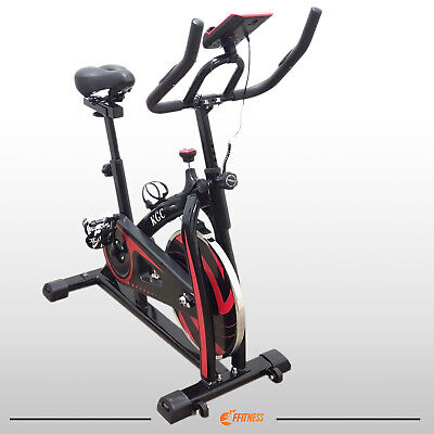 Bici Da Spinning Volano 6 Kg Spinbike Cyclette Cardio Fitness Bicicletta Casa