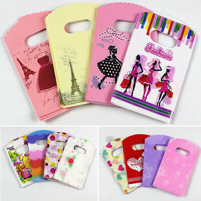 Carton Cute 9*15cm Packaging Bags  Shopping Bags With Handle