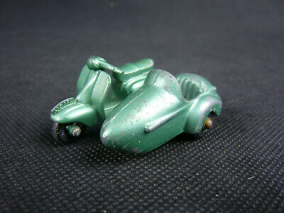 MATCHBOX LESNEY LAMBRETTA TV 175 No. 36 ROLLER SCOOTER MIT BEIWAGEN ENGLAND