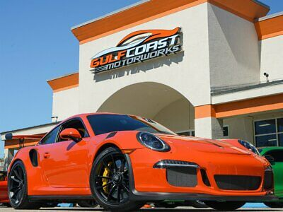 2016 911 GT3 RS $214K Sticker!! Carbon Ceramic Brakes, Front Axle Lift System, Sport Chrono Pack