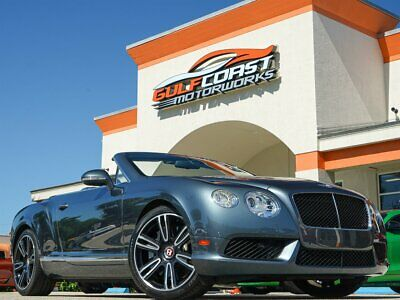 "2013 Continental GT GTC V8 Mulliner Package! 21"" Six Twin-Spoke Alloy Wheels w Black Finish, Sports Exhaust"