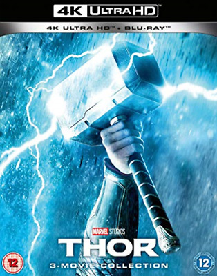 Thor 3 Movie Collection (UK IMPORT) BLU-RAY NEW