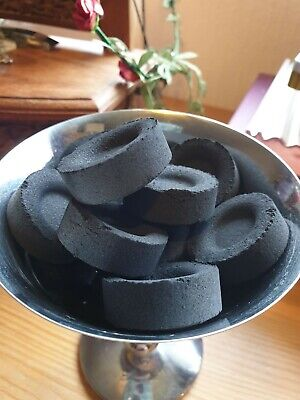 CHARCOAL TABLETS//DISCS x10~ Burning Loose Grain Incense 1x10pc roll