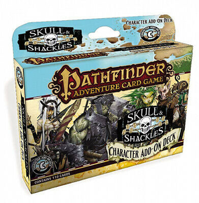 Pathfinder Adventure Card Game: Skull & Shackles Character Add-On Deck.