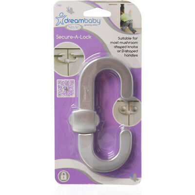 Dreambaby Style Range Secure-A-Lock. Free Shipping
