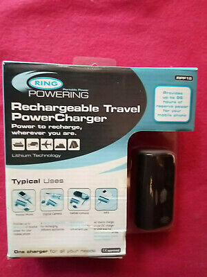 Rechargeable Travel Power Charger - uses : mobiles, games consoles etc