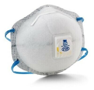 1 Box of 10 Each 3M 8576 P95 Particulate Respirator (See listing and pictures)