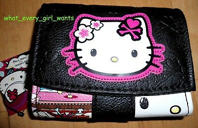 NEW Authentic TOKIDOKI HELLO KITTY 2014 Sanrio Kimono WALLET FLAP COIN PURSE BAG