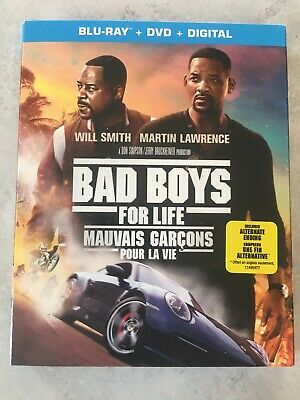 Bad Boys For Life Blu-Ray & DVD w Slipcover Canada Bilingual NO DC LOOK Part 3