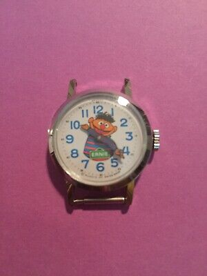 Vintage  Bradley Ernie Sesame Street  Wind Up Watch