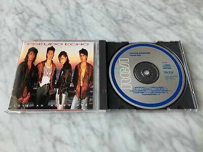 Pseudo Echo Love An Adventure CD 1987 EARLY PRESS RCA 5730-2RX RE Brian Canham