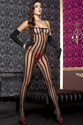 N212 Sz XS S M L Plus XL Sexy Lingerie Dress Bodystocking Sleepwear Underwear