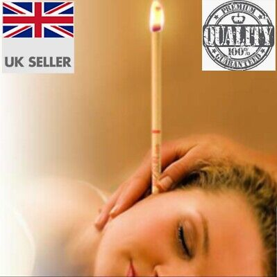 6 X HOPI EAR WAX CANDLES (100% Natural Beeswax) *FAST UK SHIPPING*