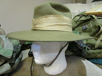 Australian Military Issue Slouch Hat, dated 1970..