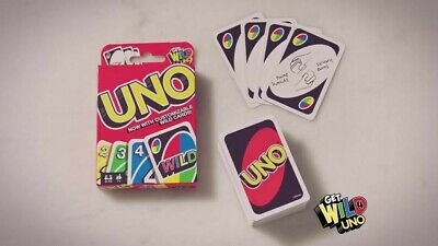 UNO WILD Card Game FAST SHIPPING