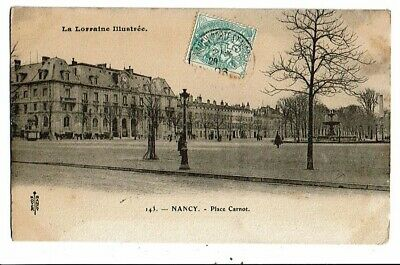 CPA-Carte Postale-France-Nancy-Place Carnot -1906-VMO16290