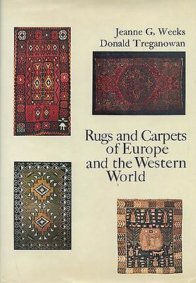 European American Rugs Carpets incl. Spain France UK Scandinavia Greece / Book