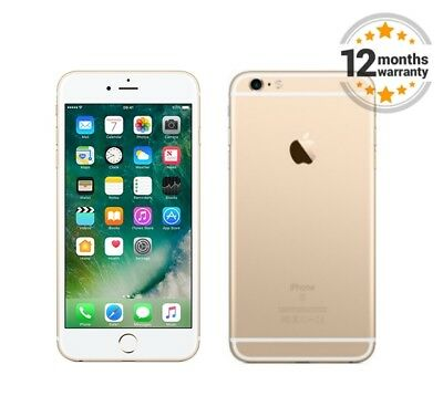 New Apple iPhone 6+ Plus 64GB Gold Unlocked SIM Free Smartphone with Box