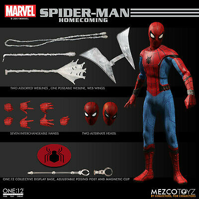 One:12 Collective Marvel Spider-Man Homecoming Action Figure Mezco Toys