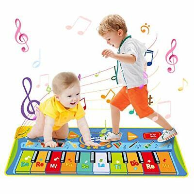 LEADSTAR Piano Mat, Floor Keyboard Large Multi-Function Musical Toys Play Mats