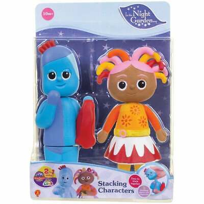 In the Night Garden Stacking Character Set - Igglepiggle & Makka Pakka Figures