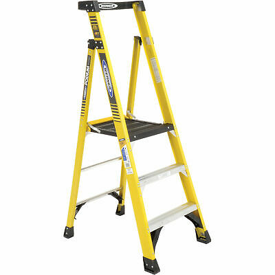 Werner PD7303 3' Type 1AA Fiberglass Podium Ladder