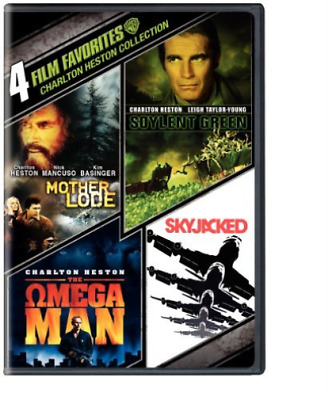 HESTON,CHARLTON-Charlton Heston Collection: 4 Film Favorites DVD NEUF
