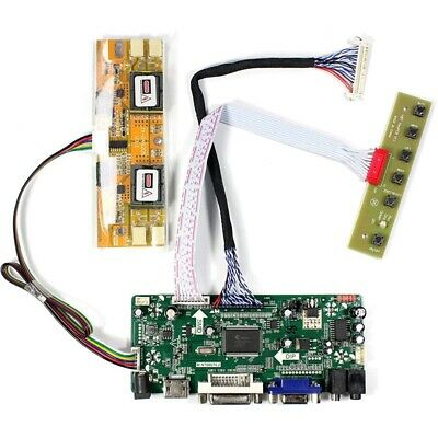 2X(mi+Vga+Dvi+Audio Input Lcd Controller Board For Hsd190Men4 M170En06 17 i W4K1