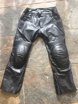 GENUINE TRIUMPH TALOC LEATHER JEANS MLJS16124