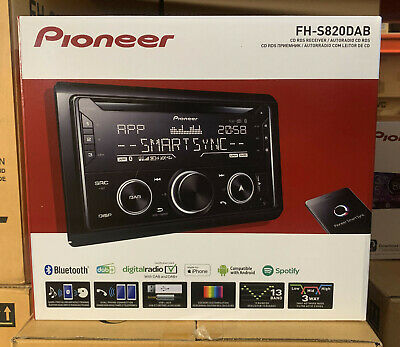 Pioneer Car/Van Cd/Mp3, Aux-In, Usb Ipod/Iphone, Double Din Dab Bluetooth Stereo