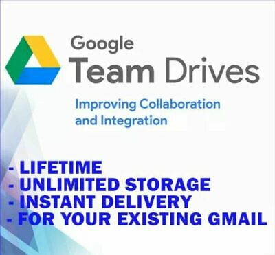 Buy 1 Get 2 - GOOGLE DRIVE UNLIMITED STORAGE [CUSTOM NAME] [LIFETIME]