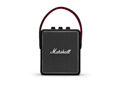 Marshall Stockwell II Portable Bluetooth Speaker, Black - Nip