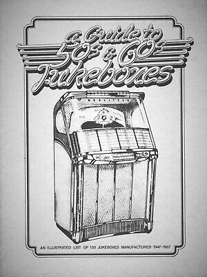 Guide to 50s and 60s Jukeboxes - Identification Guide / Illustrated Booklet