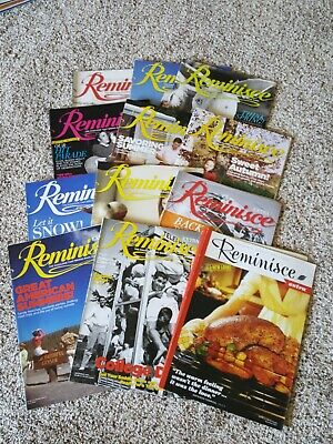 2014 REMINISCE / REMINISCE EXTRA Magazines Back Issues lot MAKE OFFER
