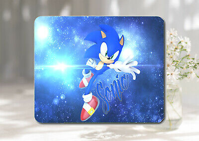 Sonic The Hedgehog Softable Anti-Slip Mouse Pad Mat 22 x 18 cm UK Seller