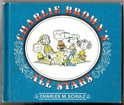 CHARLIE BROWN'S  ALL STARS   by Charles M Schulz  Ex+  1ST   1966