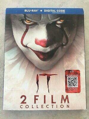 IT 2 Movie Film Collection Blu-Ray w Slipcover Canada Bilingual NO DC LOOK