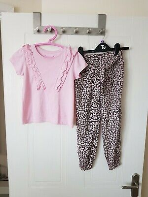 Girls Cotton Outfit by Primark, Age 6-7 yrs, VG Con