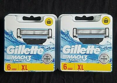 Gillette Mach3 Start XL 2x6 ( 12 Recharges )