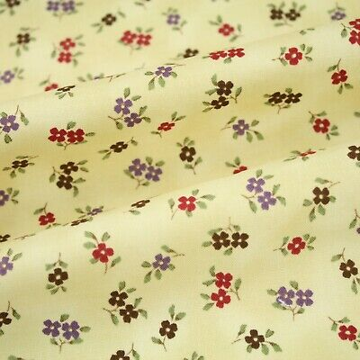 JOANN Small Flowers 100/% Cotton Patchwork Quilting Clothes Craft Fabric