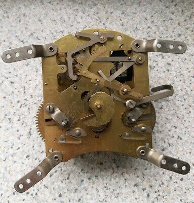 Vintage Smiths  Floating Balance 8 Day Striking Clock Movement