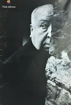 Alfred Hitchcock | Apple | Think Differently - 1997 Advertising Campaign Poster