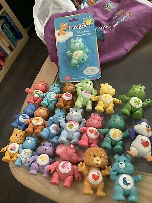 Vintage care bears X 19 Plus 1 Carded Posable Free Uk Postage